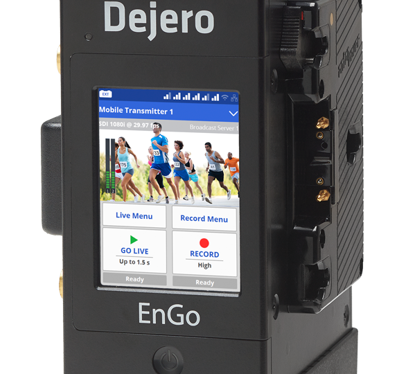 Dejero's LIVE+ EnGo Mobile Transmitter Brings Compact Global Broadcast Connectivity to IBC2016