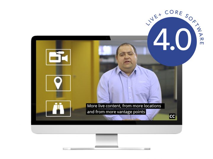 Dejero supports closed captioning and intelligently adapts to network congestion with LIVE+ Core 4.0
